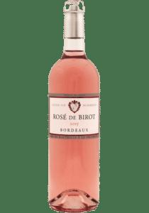 Vin birot rosé bordeaux rosé